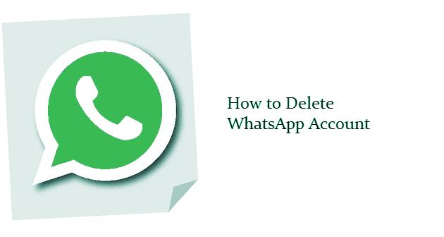 Cara hapus akun WhatsApp permanen