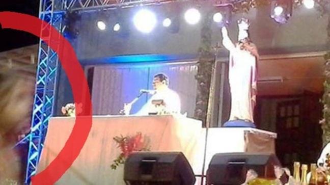Heboh..!! Penampakan Yesus dalam Wujud Asap di Gereja Katolik di Argentina