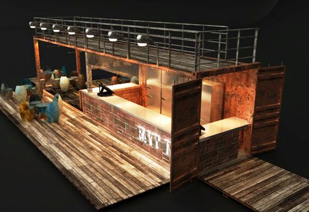 Desain Cafe Container Bar Container Dan Beach Container Cafe | Container Cafe
