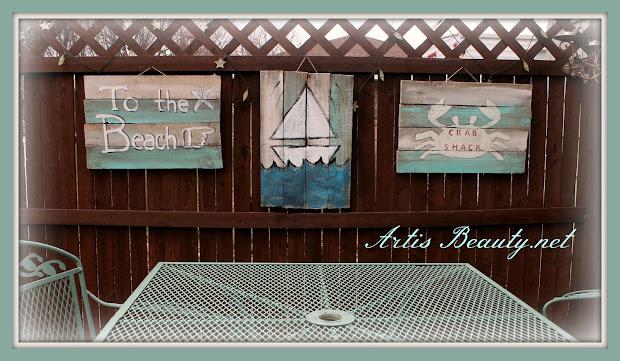 Art Beauty Beachy Summer Handmade Signs Free