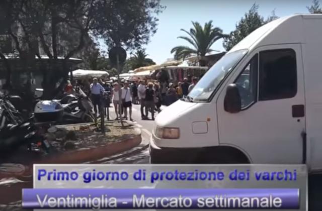 """Ventimiglia, """"Il mercato è più protetto"""". Un reportage di SanremoNews illustra le nuove norme di sicurezza."""