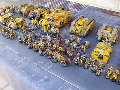 Imperial Fists showcase