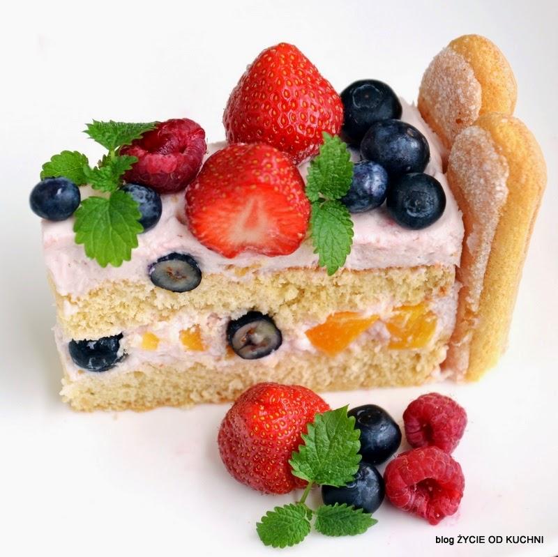tort owocowy, letni tort, tort z letnimi owocami, sezonowe przepisy, lipiec, lipiec wkuchni, warzywa sezonowe lipiec, lipiec owoce sezonowe lipiec, lipiec warzywa sezonwe, sezonowa kuchnia, sezonowosc, zycie od kuchni, lipiec zestawienie przepisow