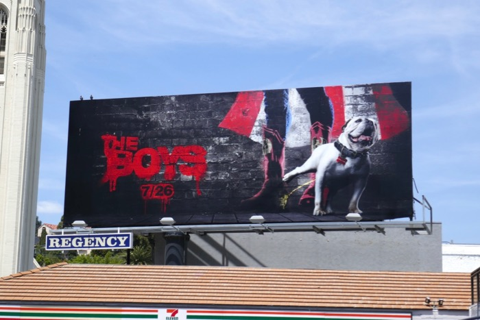 Boys Amazon series teaser billboard
