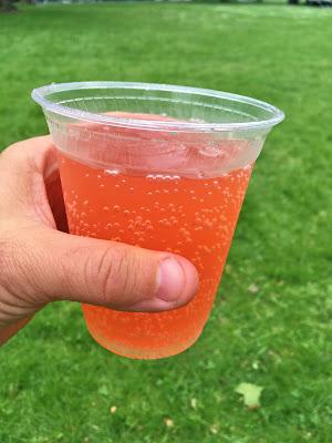Glass of Bravazzi Hard Italian Soda