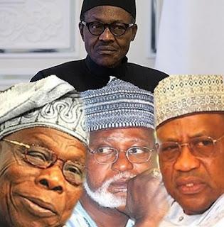 Why IBB, Obasanjo, Abdulsalami Abubakar are conspiring against Buhari