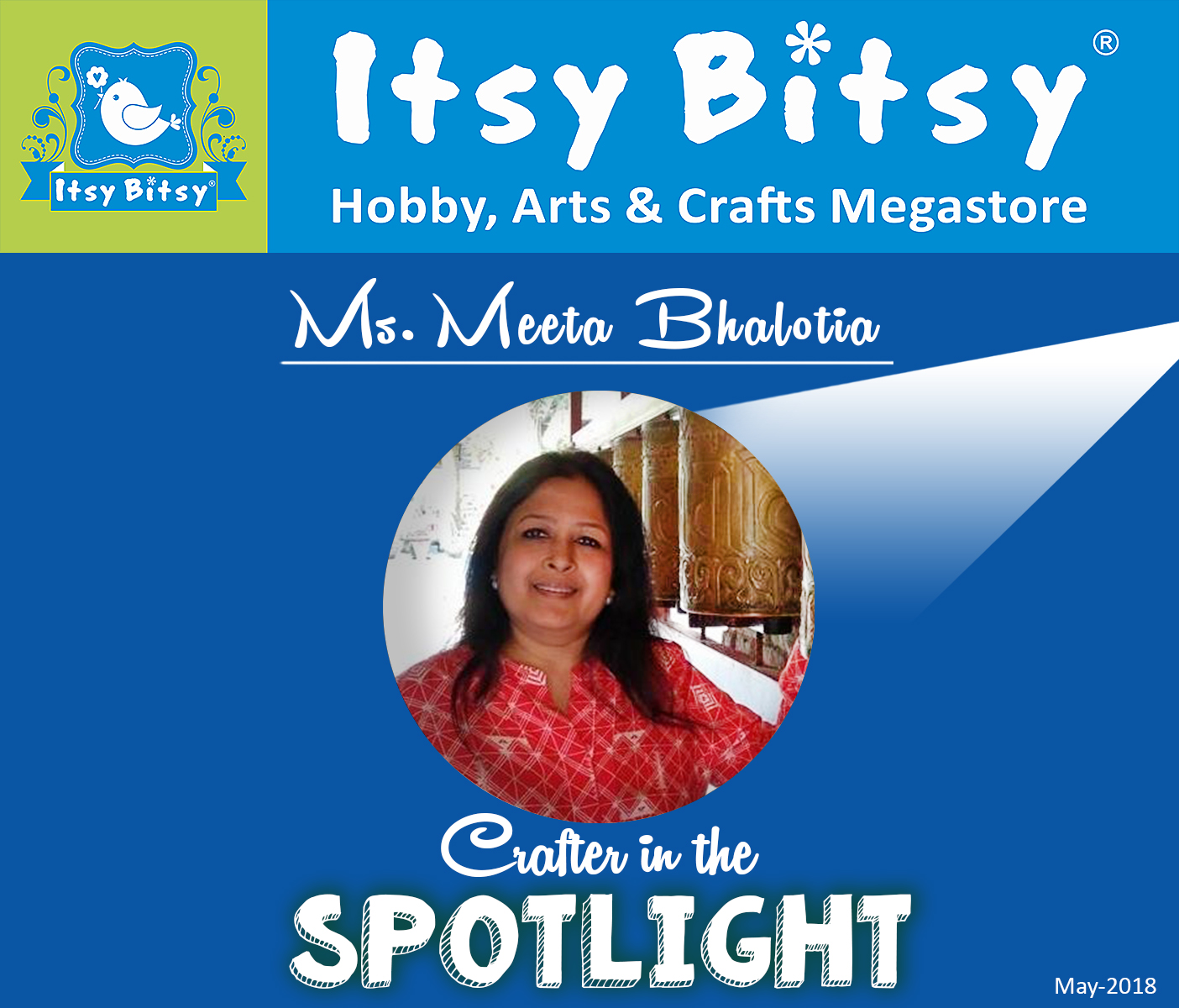 Crafter in  the Spotlight