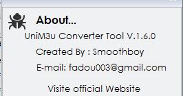 unim3u converter.exe