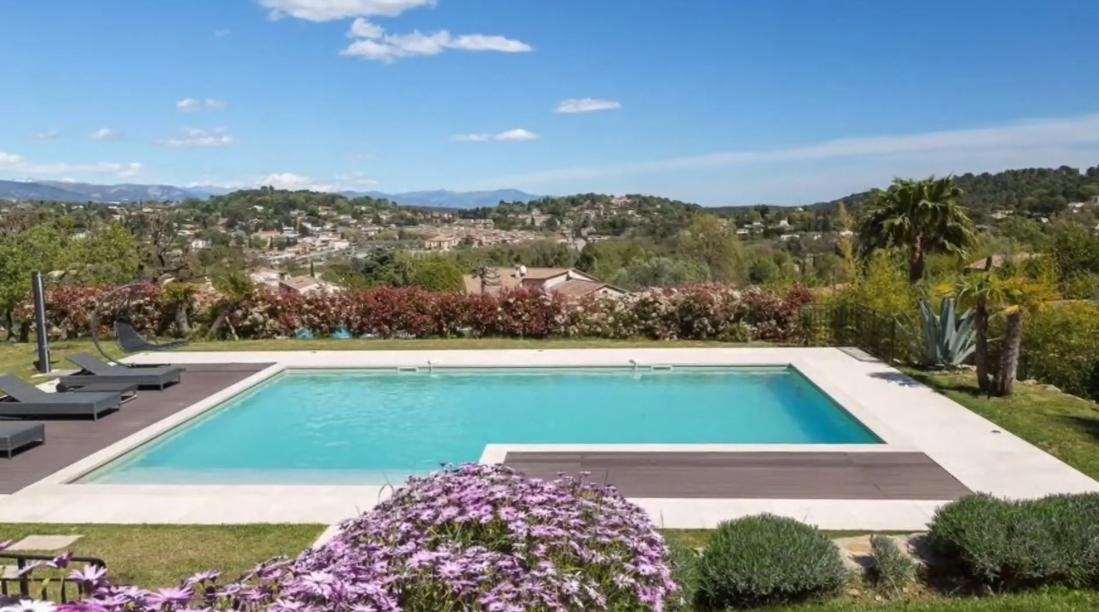 9 Interior Design Photos vs. Valbonne, France Luxury Villa Tour