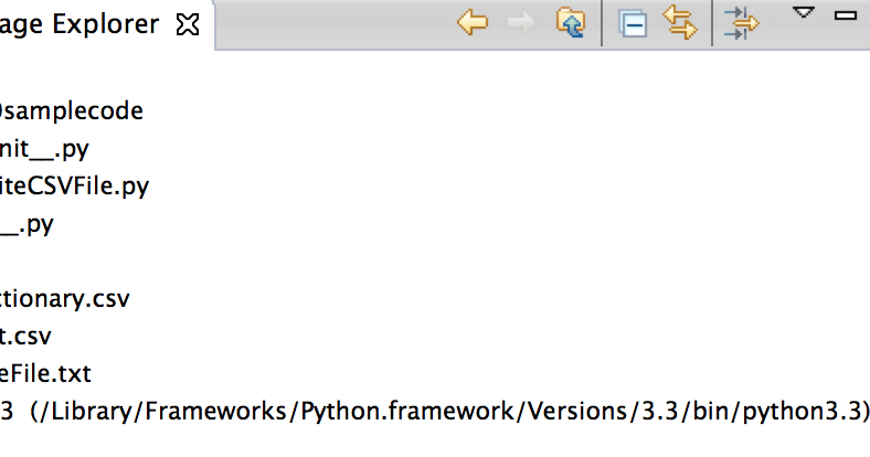Programmers Sample Guide: Python generate CSV file from List or