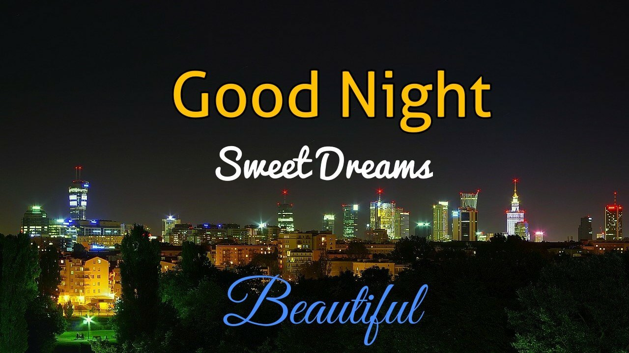 Beautiful Romantic Good Night Images with Sweet Dreams