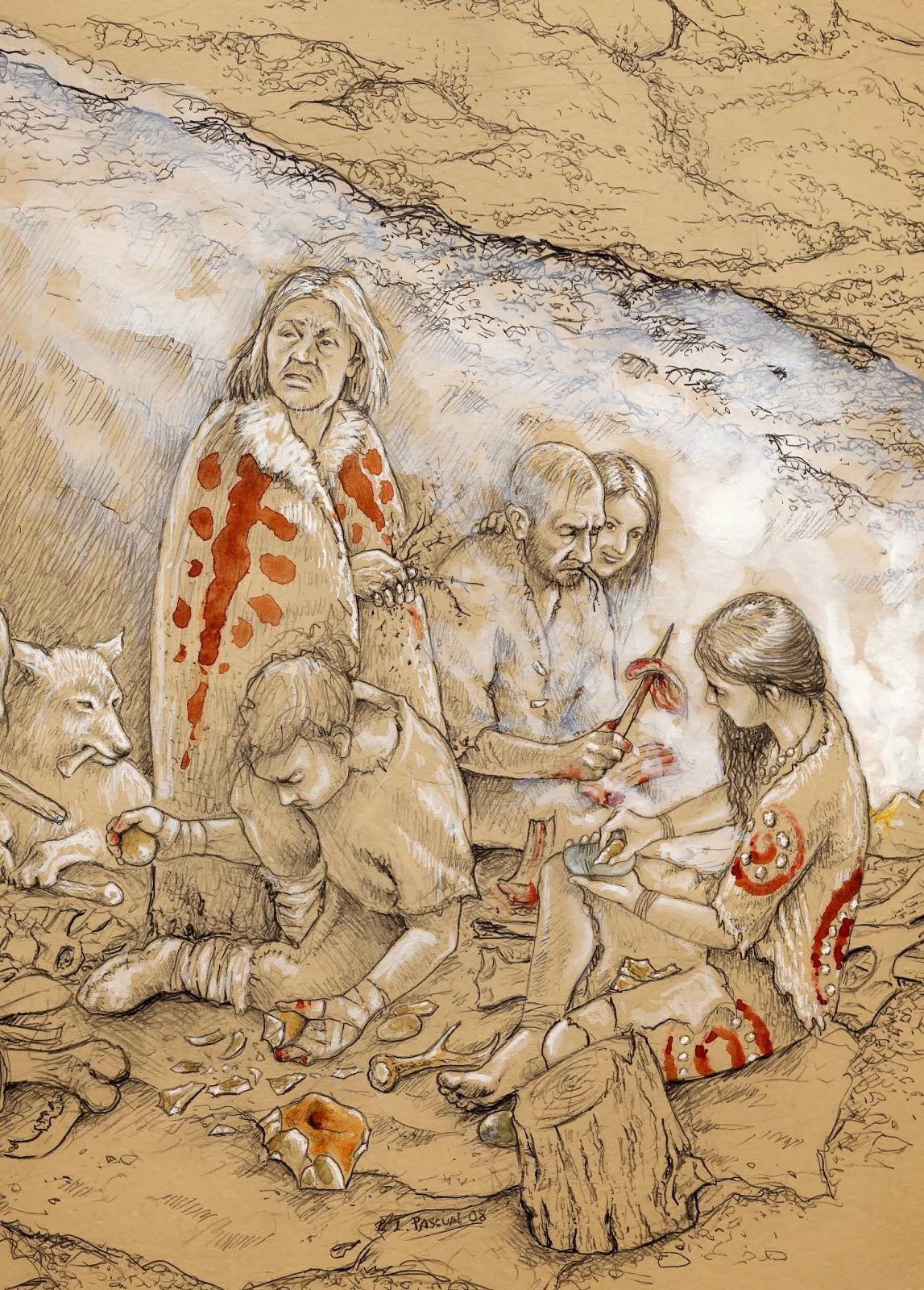 Ice Age Native American Worksheet
