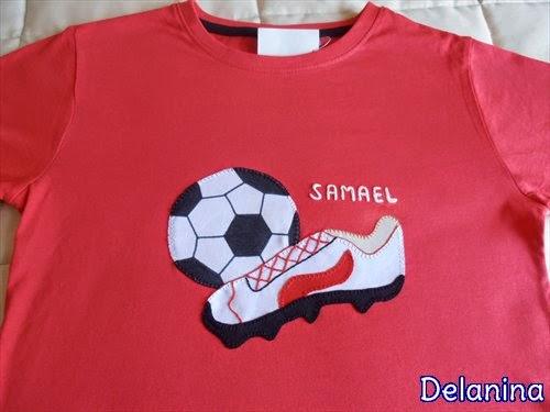 Camiseta Futbolera