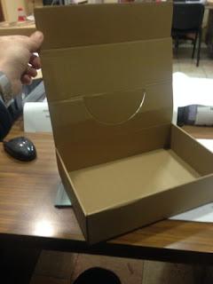 caja expositora sin impresion