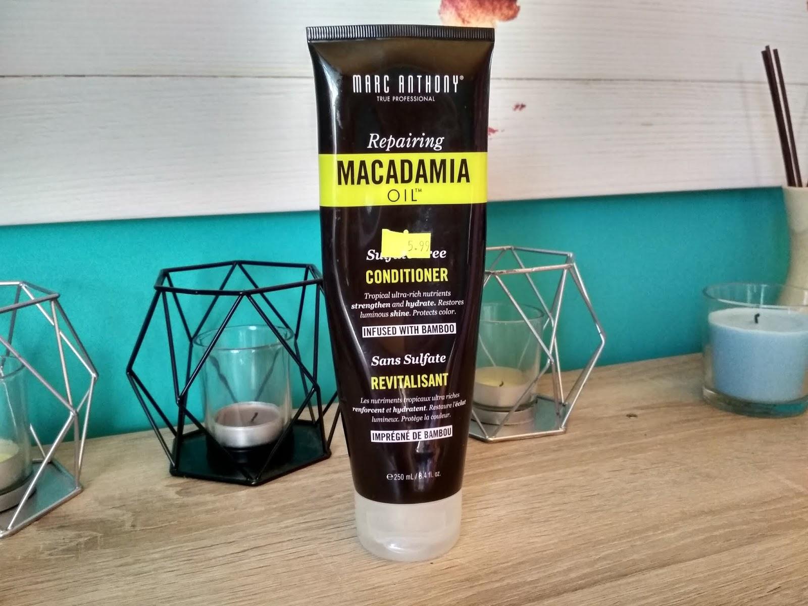 Recenzja - Marc Anthony odżywka do włosów z olejem makadamia