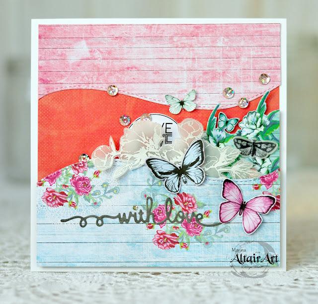 with love card | AltairArt DT @akonitt #card #cards #altairart #by_marina_gridasova #flowers #flowercard #diecut #butterflies #cardmaking #crafting #papercrafting #handmadecard #handmade #scrap #скрапбукингкоролев #открыткакоролев #открыткаручнойработы #авторскаяработа #скрапбукинг #скрап #открытка #авторскаяоткрытка