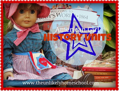 The Unlikely Homeschool-American Girl History Units Julie
