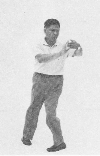 Tai Chi Chuan (Square Form) 64. Turn Body, Brush Knee Twist Step