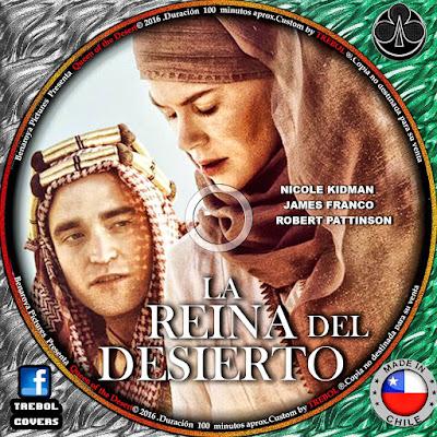 Queen of the desert 2015 dvd cover coverdvdgratis for Aida piscina reina del desierto