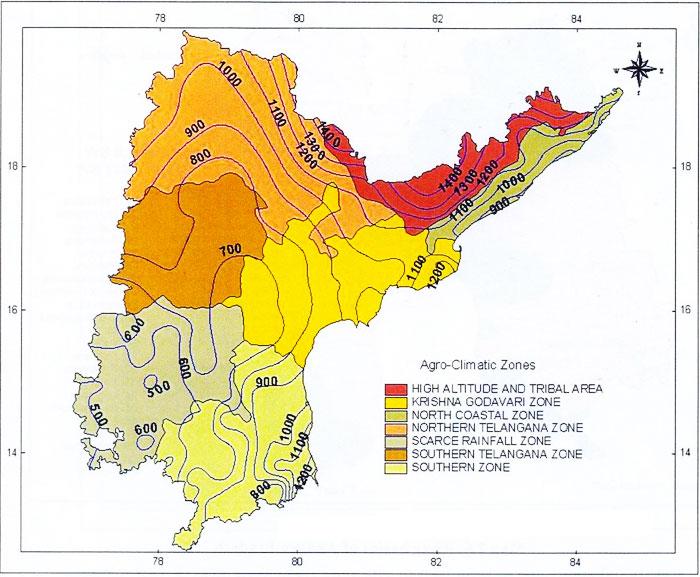 South indian rainman rain in andhra pradesh for Soil zones of india