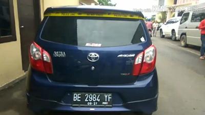 Berikut Data Delapan Mobil Yang Disita Ditreskrimum Polda Lampung