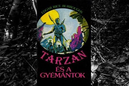 Burroughs Tarzan és a gyémántok könyv bemutatás