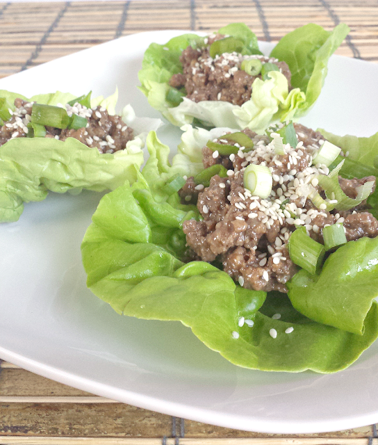 These Korean Beef Lettuce Wraps are quick, easy, healthy and bursting with flavor! Honey instead of sugar makes the sauce flavorful without all of the sugar that is commonly found in Korean BBQ. Grain-free, gluten-free, dairy-free, nut-free, nightshade-free, low-carb, and Paleo.