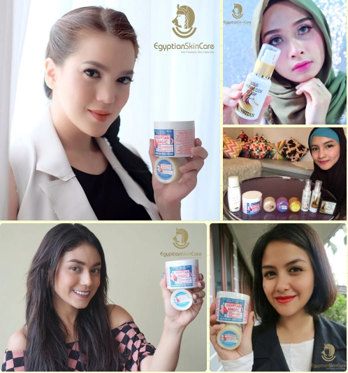 Indonesian Artist with Egyptian Cream
