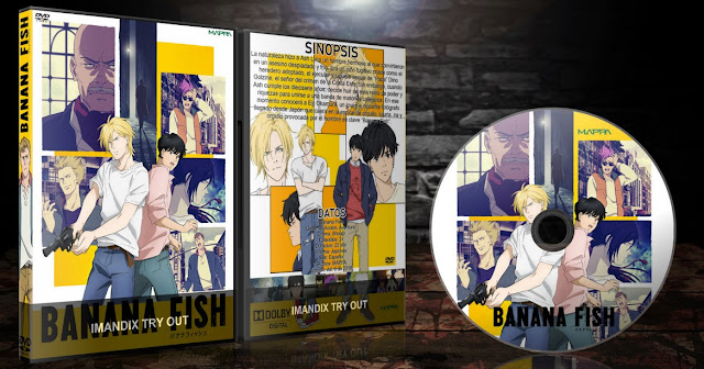 Banana Fish | Cover DVD |