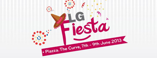 LG Fiesta with Bloggers - Introducing the World's First 84 Inch Ultra HDTV @ Piazza The Curve