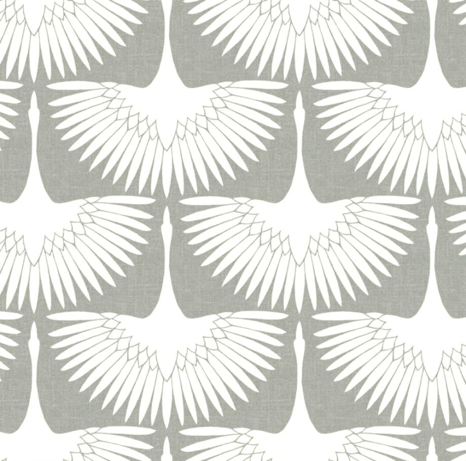 Tempaper Genevieve Gorder Feather Flock Chalk Self Adhesive