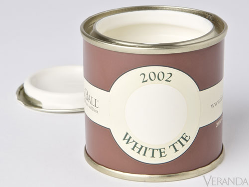 Farrow and Ball White Tie