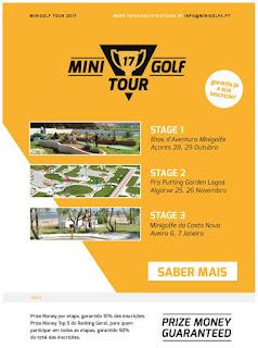 Minigolf Tour 2017 - new minigolf tournament in Portugal