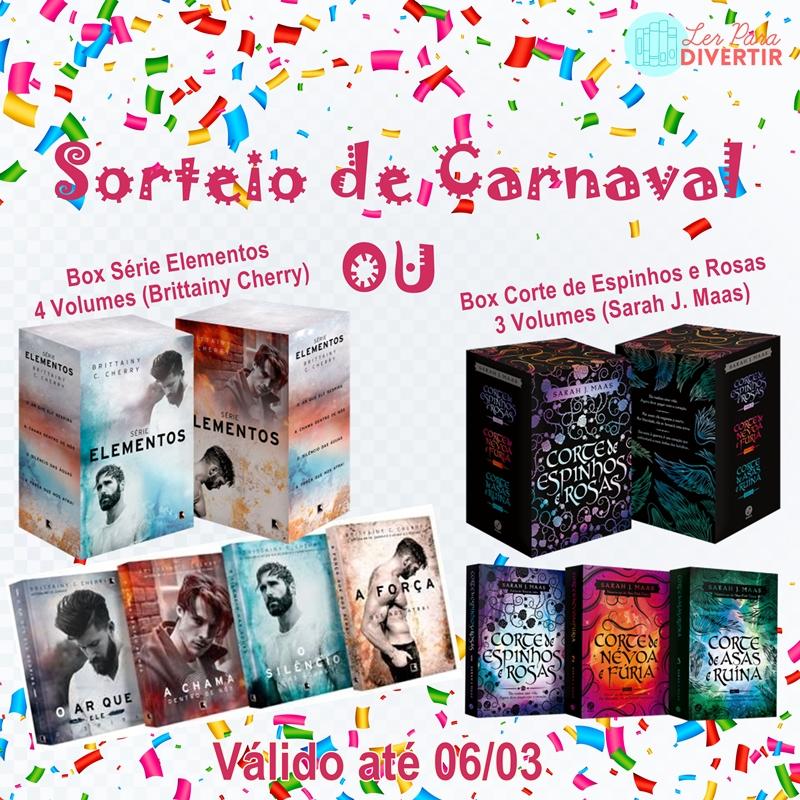 Box Série Elementos OU Box Corte de Espinhos e Rosas