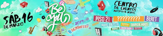 POSTER Festival BE YOU FEST 2019 Bogotá