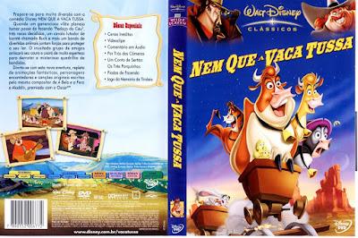 Filme Nem Que a Vaca Tussa DVD Capa