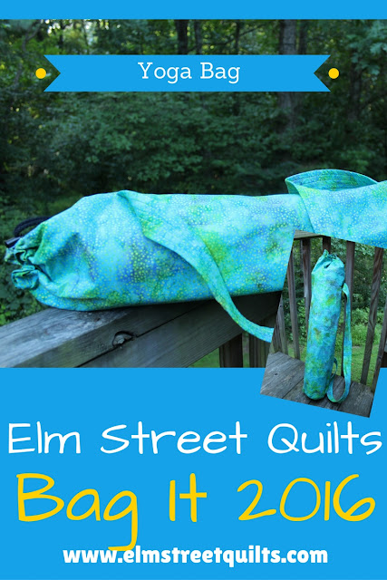 Elm Street Quilts Yoga Mat tutorial