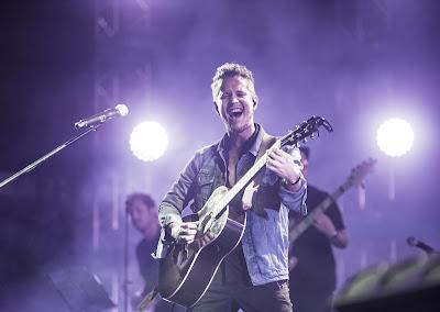 Vicente García en concierto.