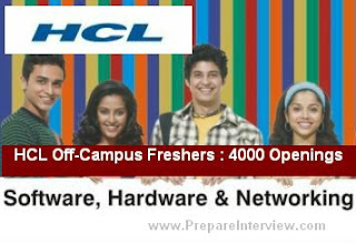 HCL is Hiring Young Engineers Freshers 2012-2015  Batch