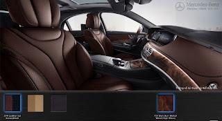 Nội thất Mercedes S400 L 2015 màu Đen 201