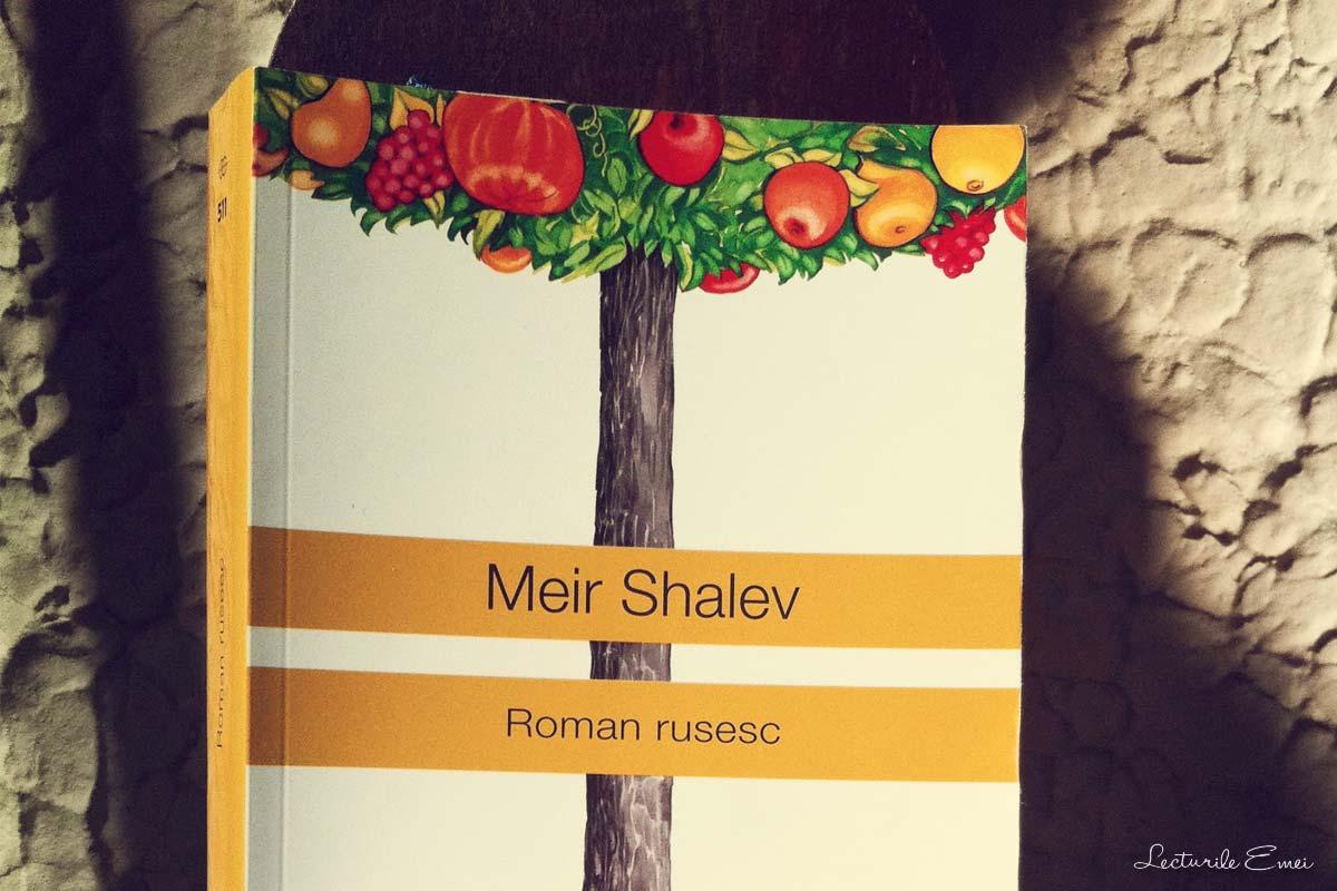 recenzie carte Roman rusesc Meir Shalev