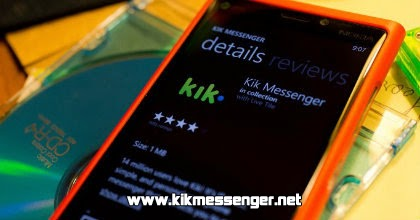 ¿Como cambiar mi password en Kik Messenger?