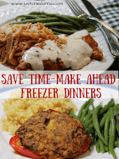 Save Time with Freezer Dinners