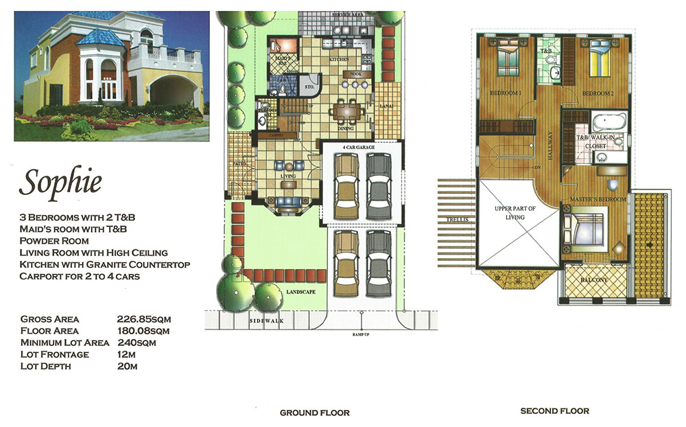 Versailles alabang sophie luxury house and lot for for Versailles house floor plan