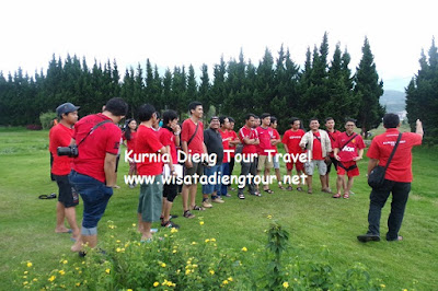 outbound kurnia dieng tour murah