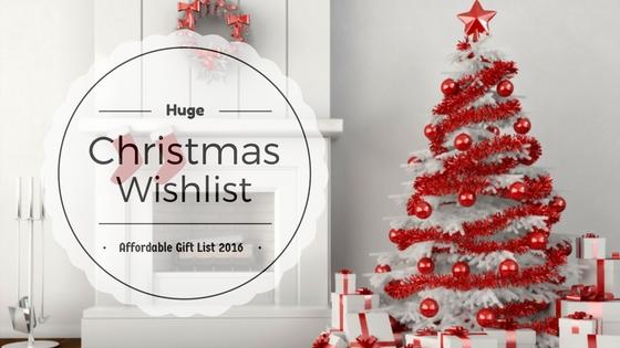 Christmas Wishlist, Christmas Wishlist 2016, gift guide, holiday guift guide, affordable holiday gift guide, affordable holiday gifts, makeup, fashion, beauty,