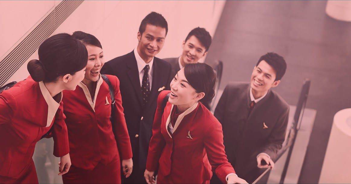Fly Gosh Cathay Pacific Cabin Crew