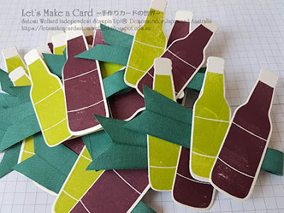 On Stage Tokyo 2018 Swap card Satomi Wellard-Independent Stampin'Up! Demonstrator in Japan and Australia, #su, #stampinup, #cardmaking, #papercrafting, #rubberstamping, #stampinuponlineorder, #craftonlinestore, #papercrafting, #onstagetokyo #swapcard #onstage2018 #bubbleover #スタンピン #スタンピンアップ #スタンピンアップ公認デモンストレーター #ウェラード里美 #手作りカード #スタンプ #カードメーキング #ペーパークラフト #スクラップブッキング #ハンドメイド #オンラインクラス #スタンピンアップオンラインオーダー #スタンピンアップオンラインショップ #動画 #フェイスブックライブワークショップ #オンステージ #オンステージスワップ #バブルオーバー