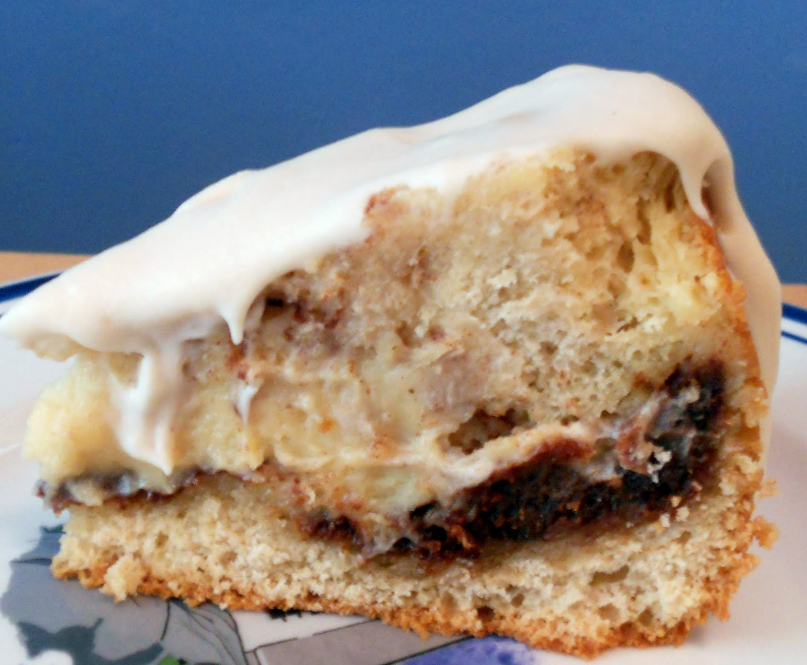 The Year Of The Cookie Cinnamon Roll Cheesecake