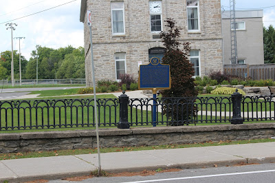 Founding of Spencerville Plaque